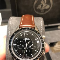 Omega Speedmaster Professional Moonwatch Stål 39.7mm Sort Ingen tal