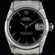 Rolex Oyster Perpetual Date pre-owned 30mm White gold