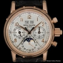 Patek Philippe Rose gold 37mm Manual winding 5004R pre-owned United States of America, New York, New York