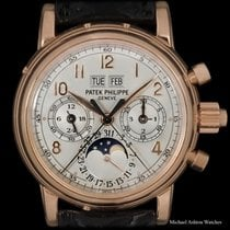 Patek Philippe Perpetual Calendar Chronograph Rose gold 37mm Arabic numerals United States of America, New York, New York