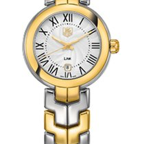 TAG Heuer Link Lady WAT1452.BB0955 - TAGHEUER Quartz Watch With Gold Details new
