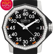 Corum Admiral's Cup Competition 40 Stal 40mm Czarny