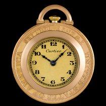 까르띠에 손목 시계 중고시계 옐로우골드 34mm 수동감기 시계만 있음