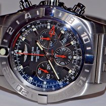 Breitling Chronomat GMT Steel 47mm Black No numerals United States of America, New York, Greenvale