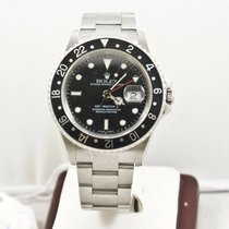 Rolex GMT-Master II 16710 Black Face Box & Booklets 2004...