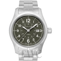 Hamilton Khaki Field Steel 42mm Grey