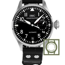 IWC Big Pilot Black Dial 7 days Power Reserve NEW