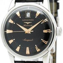 ロンジン (Longines) Conquest Heritage Steel Automatic Mens Watch...