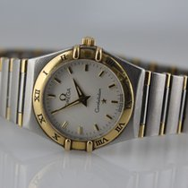 Omega Constellation Ladies Gold/Steel