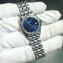 Tudor Monarch Steel 27mm Blue No numerals