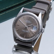 Rolex 1603 Datejust with rare grey Sigma dial