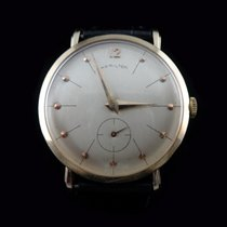 Hamilton Yellow gold Manual winding 32.50mm pre-owned