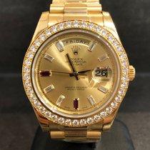 Rolex Day-Date II neu 41mm Gelbgold