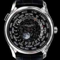 Patek Philippe 39.8mm Automatic pre-owned World Time Black