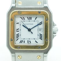 Cartier Santos Galbée pre-owned 29mm Steel
