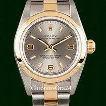 Rolex Oyster Perpetual Χρυσός / Ατσάλι 25mm Ασημί Xωρίς ψηφία Ελλάδα, Athens