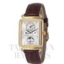 Ulysse Nardin Michelangelo Yellow gold 40mm White United States of America, New York, Hartsdale