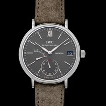 IWC Portofino Hand-Wound Steel 45.0mm Grey United States of America, California, San Mateo