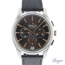 Zenith Steel 42mm Automatic 03.2110.400 pre-owned