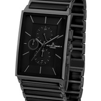 Jacques Lemans High Tech Ceramic York Steel 35mm Black