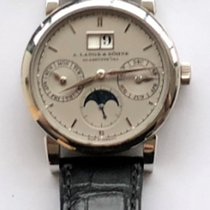 A. Lange & Söhne Platinum Automatic 38,5mm pre-owned Saxonia