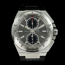 IWC Ingenieur Chronograph Racer Stahl 45mm Grau Keine Ziffern