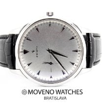 Zenith Elite Ultra Thin pre-owned 40mm Silver Leather