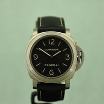 Panerai Luminor Base tweedehands 44mm Leer