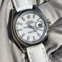 Rolex Lady-Datejust Zeljezo 26mm Bjel Rimski brojevi
