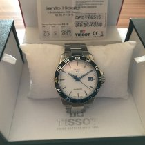 Tissot V8 pre-owned 42,5mm Silver Date Steel
