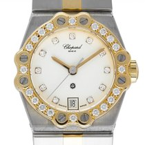 Chopard St. Moritz Gold/Steel 25mm White