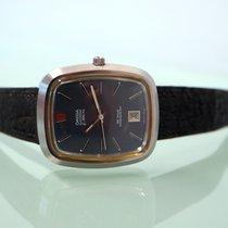 Omega De Ville pre-owned 41mm Black Leather