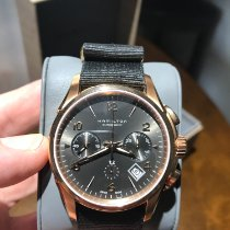Hamilton Jazzmaster Auto Chrono new 2019 Automatic Chronograph Watch with original box and original papers H32646595