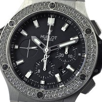 Hublot Big Bang 44 mm Stål 44mm Svart Ingen tall