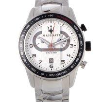 Maserati Chronograph 46mm Quartz new White