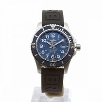Breitling Superocean II 44 Steel 44mm Blue Arabic numerals United Kingdom, London