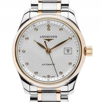 Longines Master Collection Lady Stahl Gelbgold Diamond...