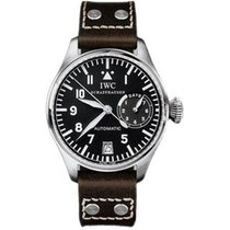 IWC IW500201 Big Pilot 46mm in Steel - on Brown Calfskin Strap...