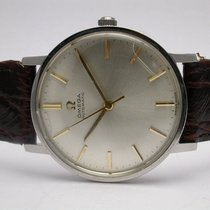 Omega Automatic Acier Inoxydable Vintage Stainless Steel Mens...