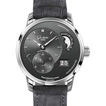 Glashütte Original 90-02-43-32-05 PanoMaticLunar 40mm in Steel...