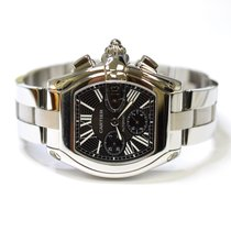 Cartier Roadster XL Chronograph 48x43mm Stainless Steel Mens...