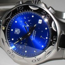 TAG Heuer Kirium Steel 38mm Blue No numerals United States of America, New York, Greenvale