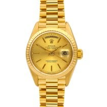 Rolex Day-Date Yellow Gold Presidential, Ref# 18238 12m Warranty