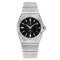 Omega Constellation Double Eagle Steel 35mm Black No numerals United States of America, New York, New York