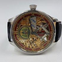 Omega Skeleton Masonic Marriage Wristwatch