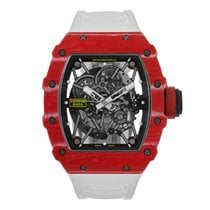 Richard Mille 49.94mm Automatik neu RM 035 Transparent