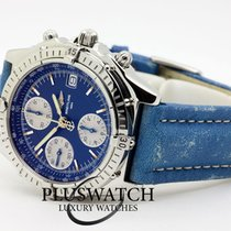 Breitling Chronomat Acciaio 40,5mm Blu Italia, l'aquila