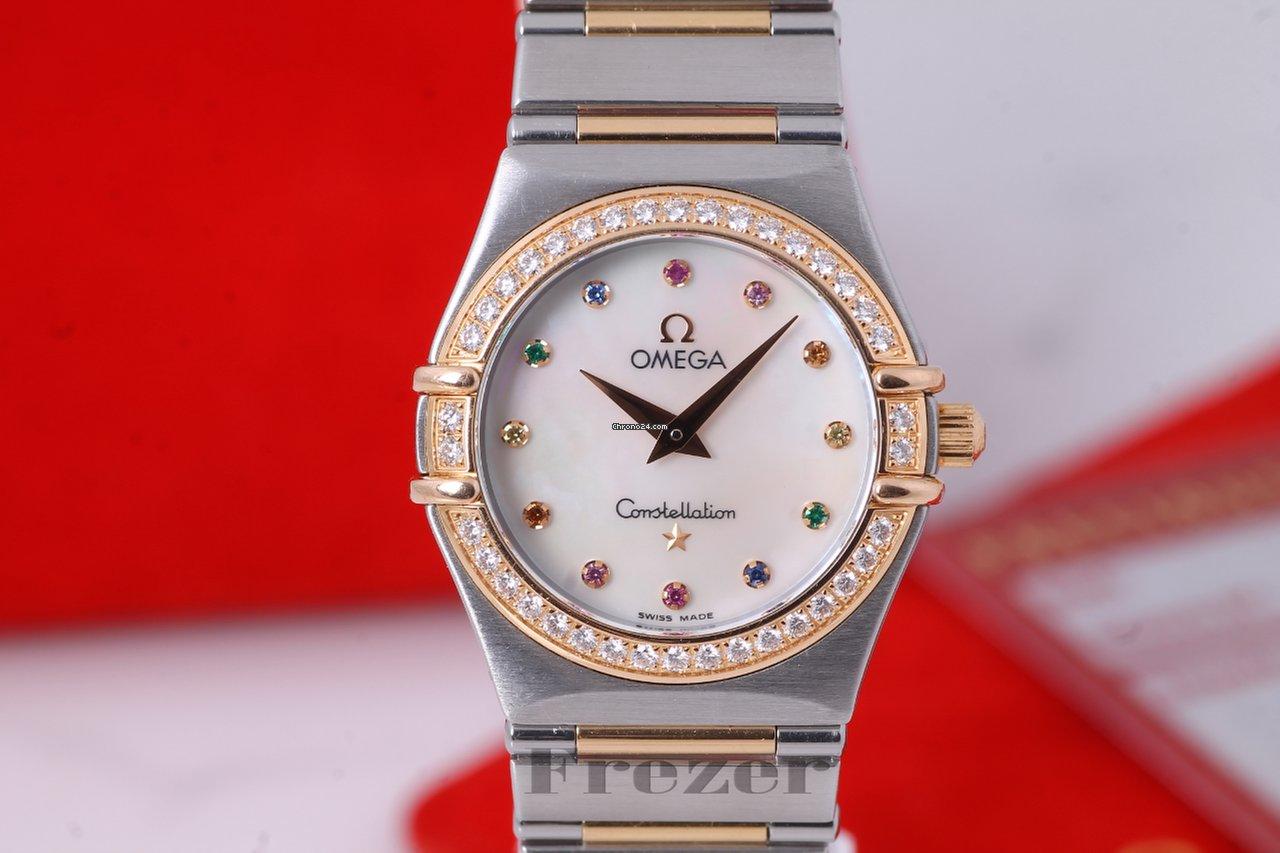 Omega Constellation Iris Multi Stone Steel   Gold za Kč 55 304 k prodeji od  Trusted Seller na Chrono24 0e6b42a33fd