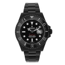 "Rolex Sea-Dweller ""Red"" PVD/DLC Steel Ceramic Watch 126600"