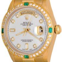 Rolex Day-Date 36 Oro amarillo 35mm Madreperla Sin cifras